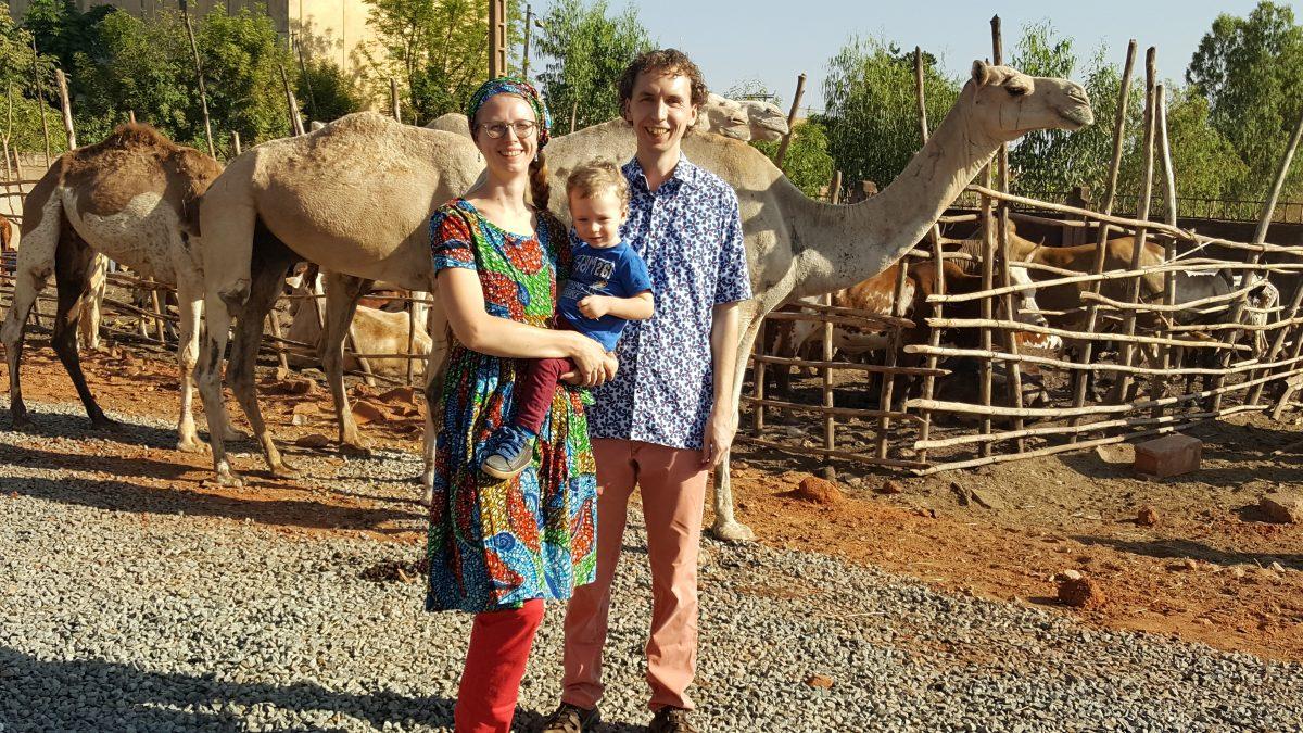 Veldmedewerker Willem met zijn vrouw Christien